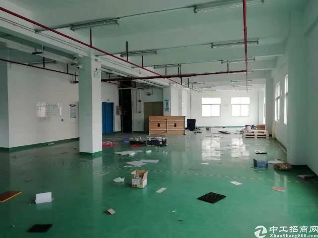 石岩北环径贝路创新工业园3楼厂房280平米招租
