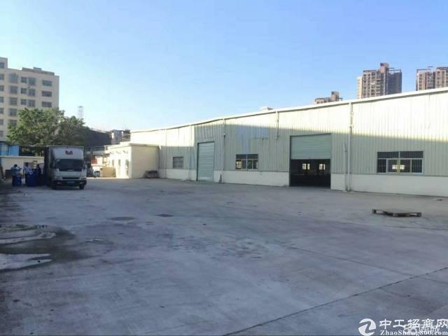 (出租)东莞市凤岗近深圳物流仓库出租单一层 14000平方