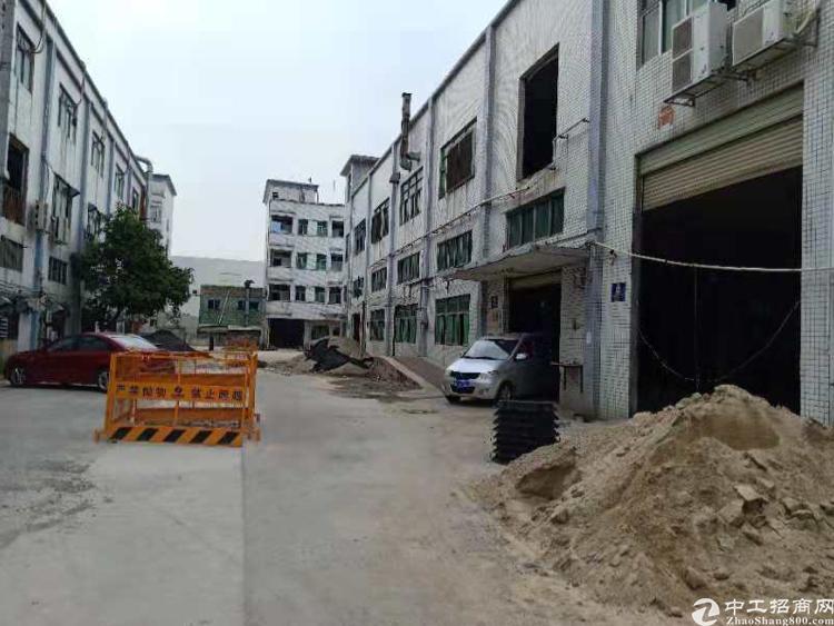 沙井洪田附近新出一楼1500平方带消防喷淋厂房出租
