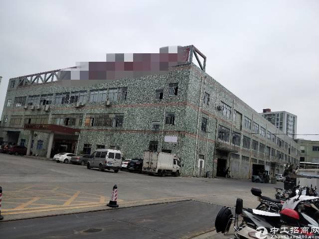 沙井后亭工业区一楼2300平方带装修地坪漆招租