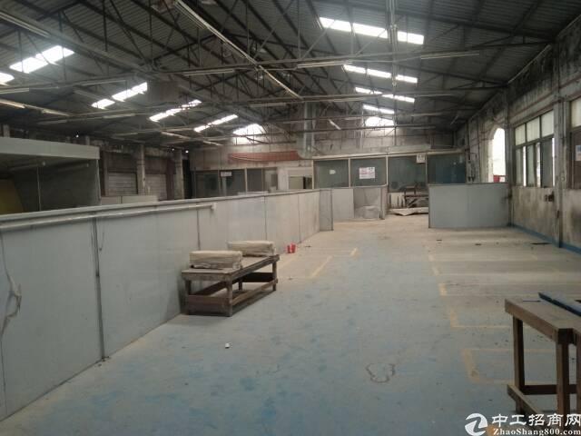 松岗燕川原房东实际面积钢构5620平方米出租