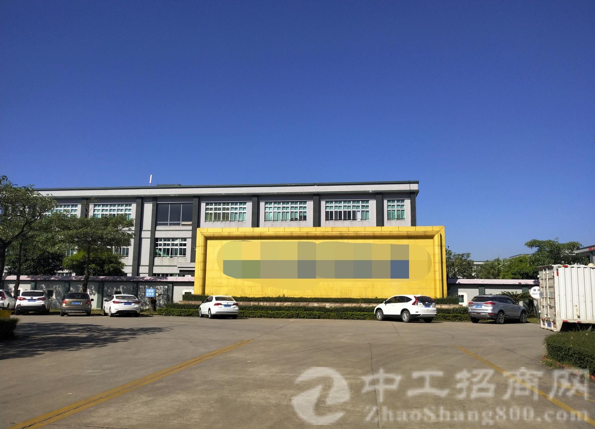 赤岭村环莞快速附近新出7万方高标厂房,现成装修,一万方空地