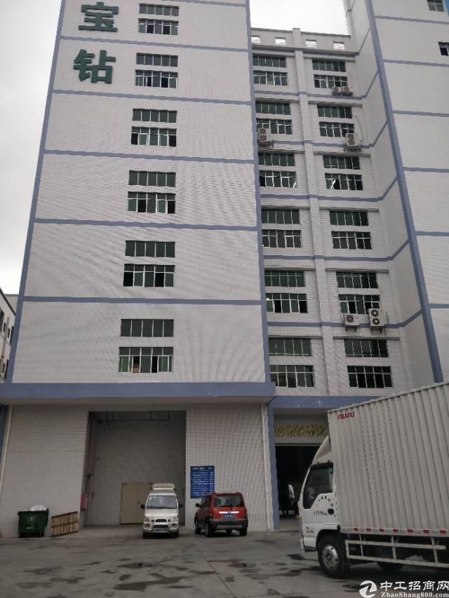 虎门怀德全新重工业带消防喷淋厂房一楼带牛角分租1000方