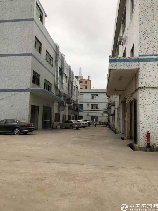 横岗独栋厂房1-3楼3600平方米招租