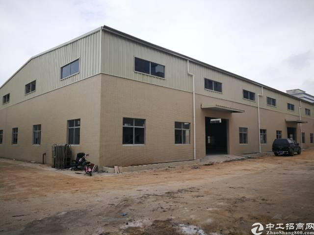 大岭山镇向东村独院钢构厂房