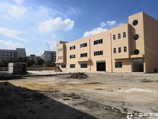 虎门独院原房东厂房出租6000平米,可办环评,实际面积空地大