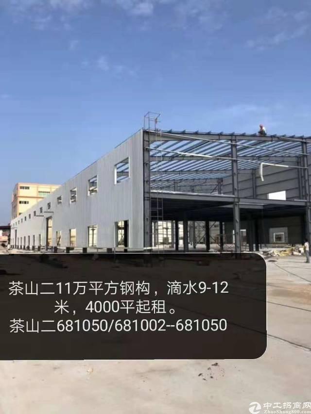 茶山新出原房东新建独院钢构12000平方
