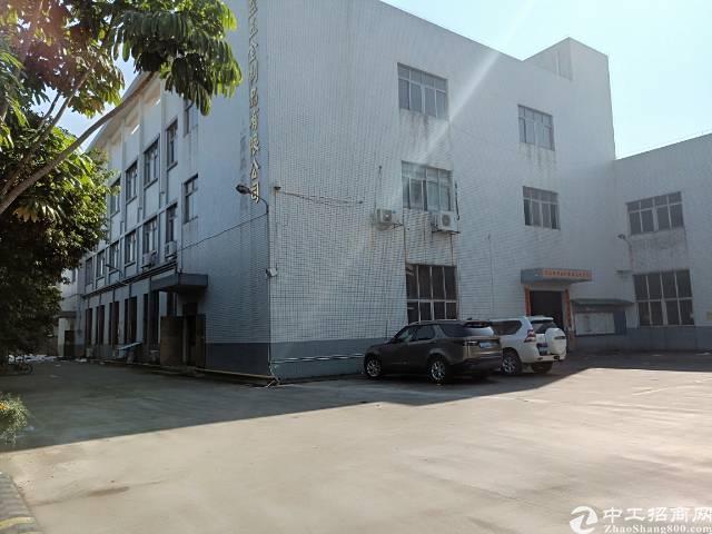 茶山工业园14500平米标准加单一层独院厂房出租