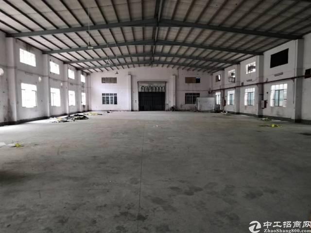 茶山镇原房东砖墙到顶单一层650平方,宿舍电按需,空地500