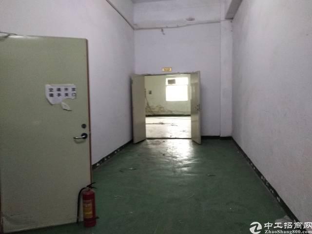 松岗江边工业区二楼1800平带装修消防喷淋厂房出租