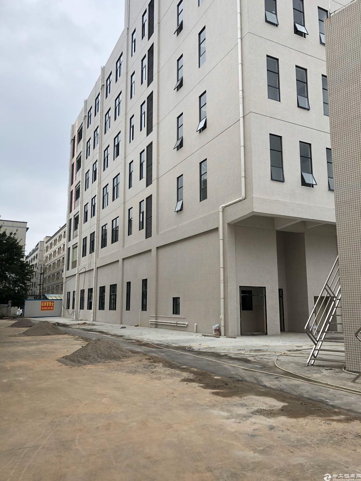 虎门重工业厂房出租一楼7米高、二楼5米高、大小可分租