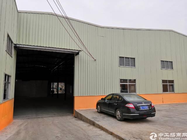 东莞市虎门镇沙角单一层钢构厂房带蒸汽