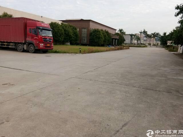清溪镇新出物流仓库厂房2万平方空地2万平方