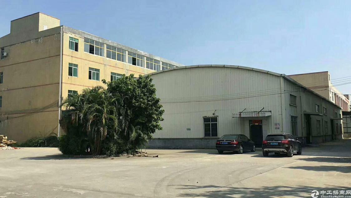 原房东厂房,单一层,滴水10米,证件齐全可办环评,7块出租