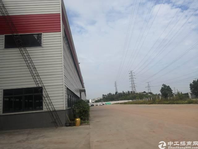 东莞靓盘出看单一层有红本有消防喷淋独门独院厂房8100平