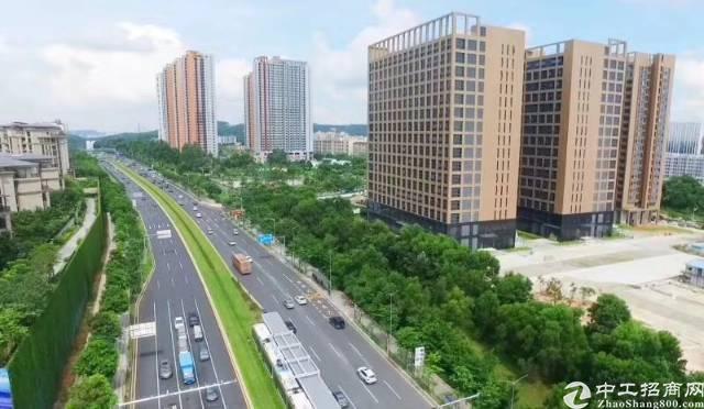 东莞茶山全新厂房,50年产权另送洋房