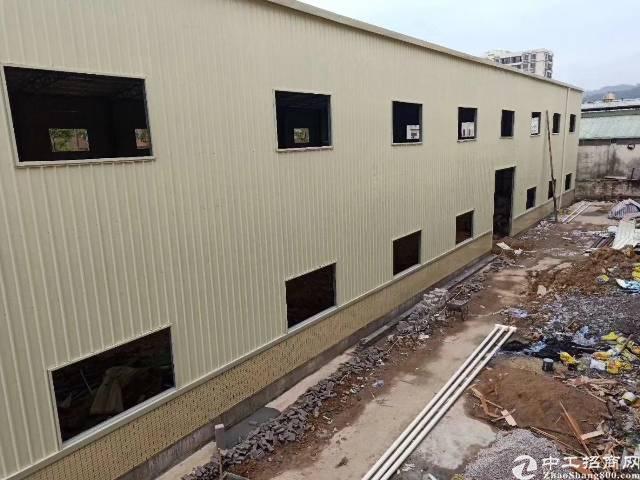 黄江镇靠深圳公明3150平米钢构厂房出租