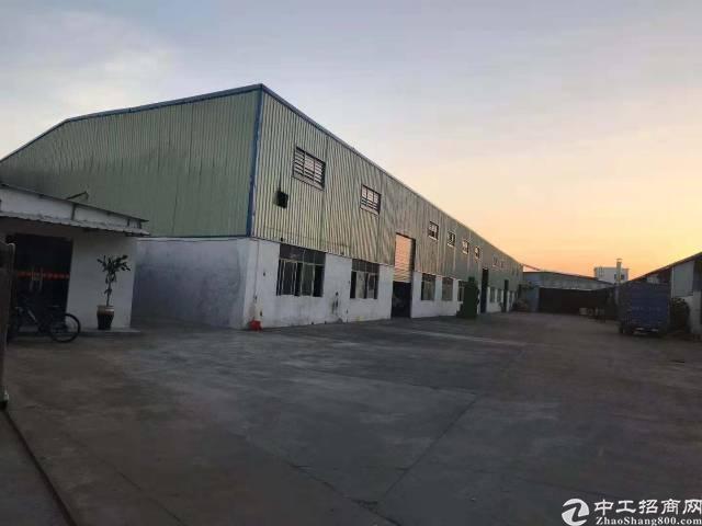 博罗园洲占地10700平方单一层厂房急售