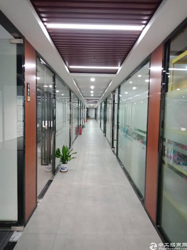 布吉丹竹头新出116平带装修办公室,有喷淋,货梯