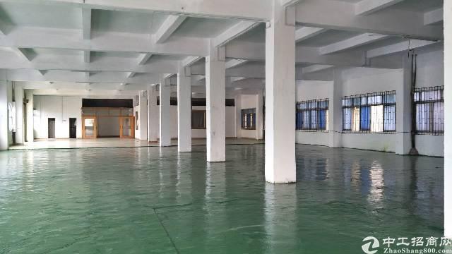 黄江镇莞樟路旁标准厂房一楼1400平米出租