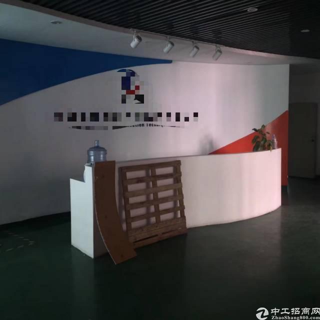 福永高速口附近大园区二楼1500平方无尘车间租28无转让费