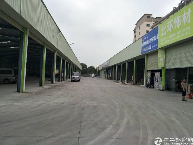 西乡宝源路钢构厂房1500平方租金55元