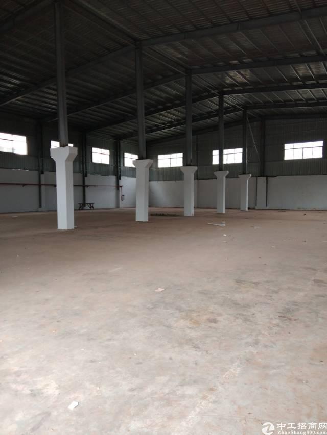 独院钢构厂房3800平方招租,可分租