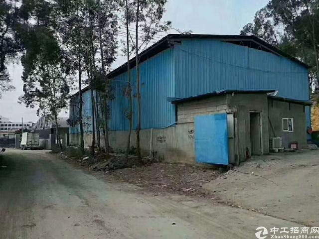 清溪近凤岗靠山边新出原房东钢构厂房1000平米