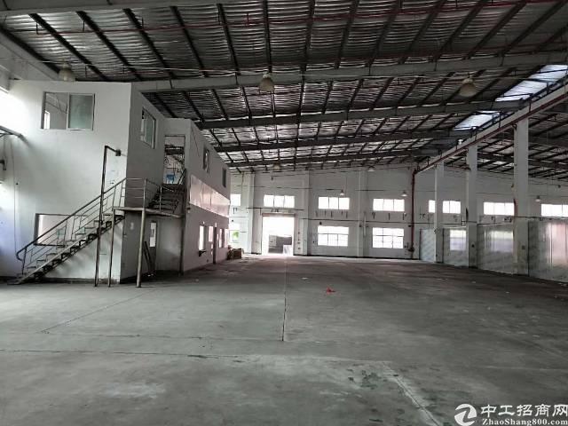 惠州惠阳大亚湾新出标准加钢构2000平米出租证件齐全