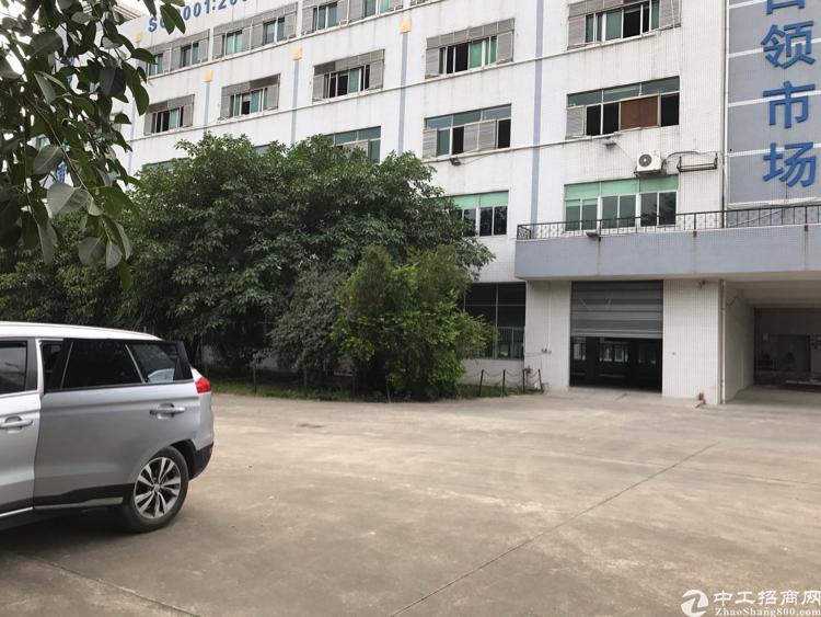 深圳平湖华南城边,富民工业区原房东厂房出租