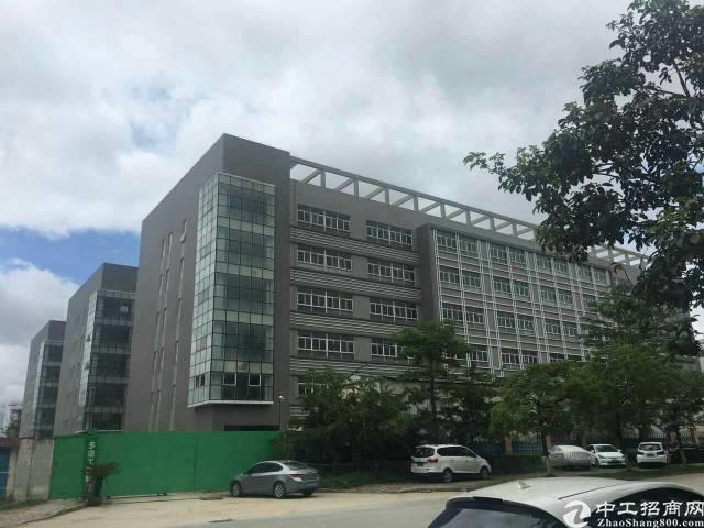 龙岗宝龙1-6楼30000平全新厂房可分租