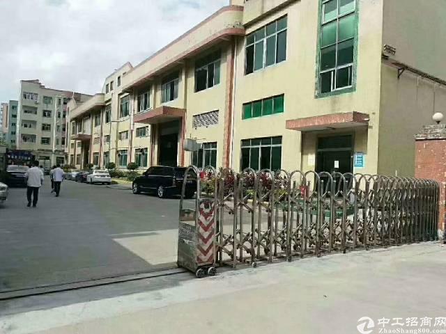 福永塘尾独栋厂房8200平方出租
