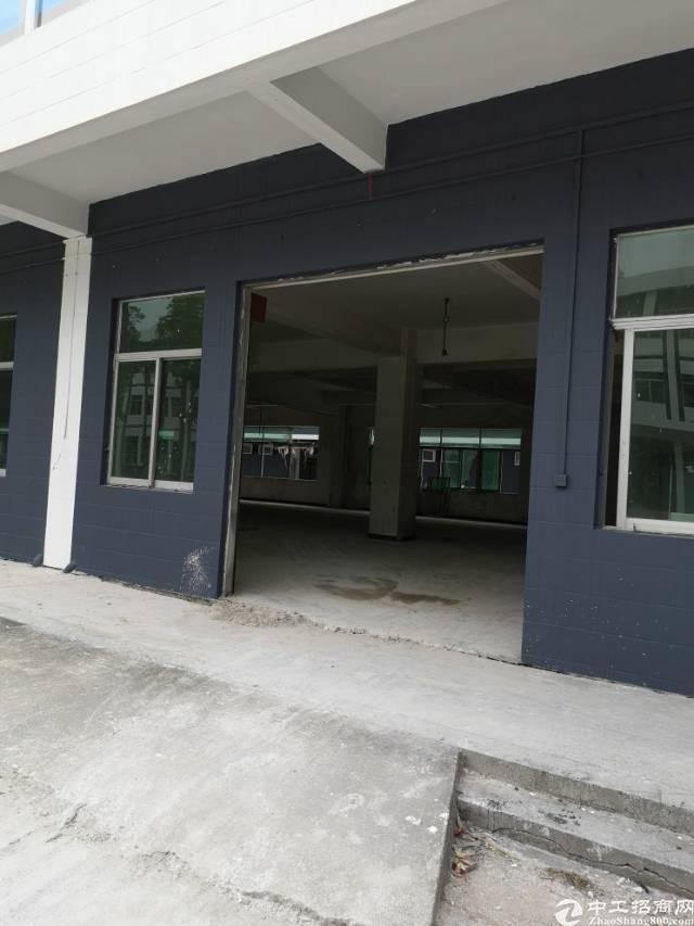 高埗镇标准厂房一楼1400平方招租!