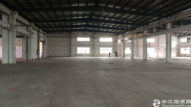 东莞横沥原房东独院单一层钢构4000平方厂房出租!