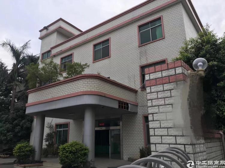 惠阳秋长原房东独院钢构厂房4200平,有红本,办公室金装修