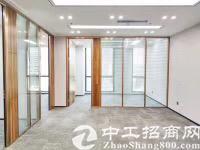 龙华地铁口附近精装修办公室390平招租