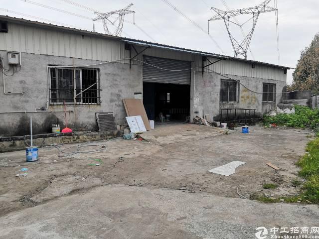 东莞市虎门镇白沙四村1600平方米铁皮房可以做任何生意。