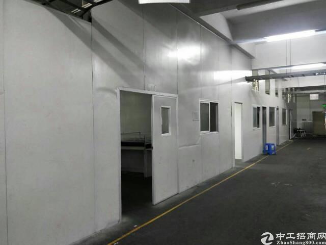 虎门镇小捷滘新出厂房现成办公室装修,水电线路齐全