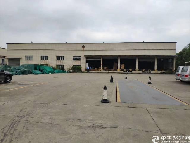 龙岗坪山石井工业区独院滴水九米钢构厂房4500平招租可分租
