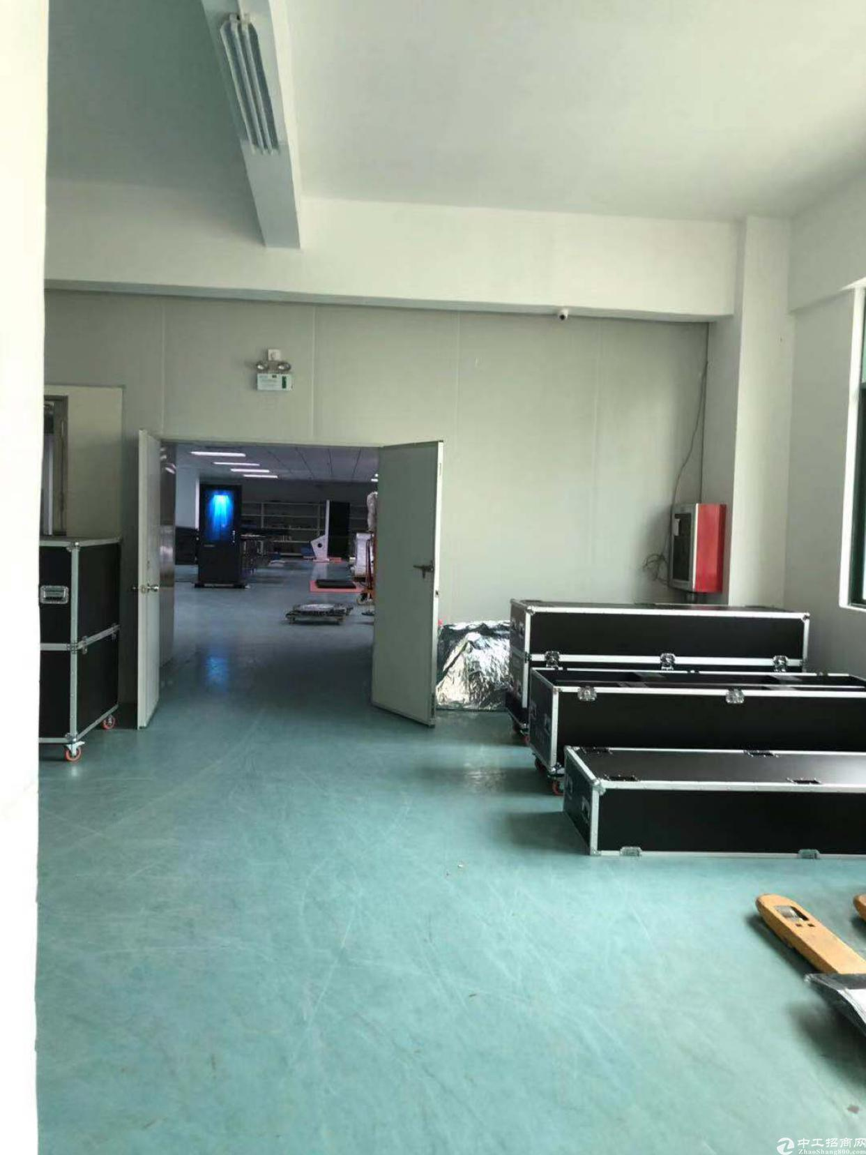 石凹服装基地附近新出楼上1600平,带豪华装修,7.5成实用