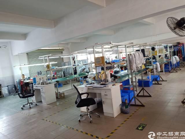 公明东坑村二楼厂房650平方带多间办公室装修