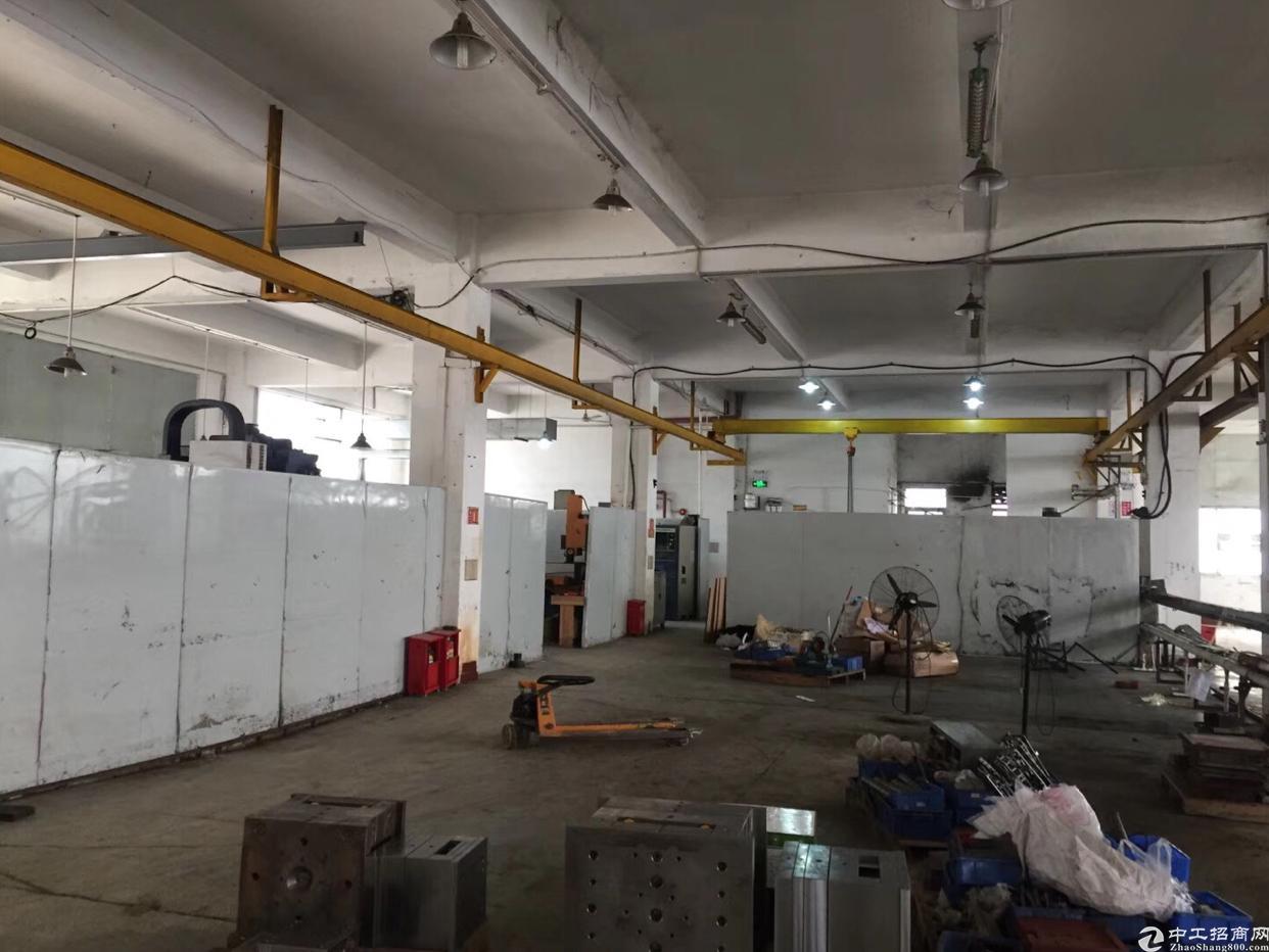 西乡银田工业区附近新出原房东1200平厂房出租