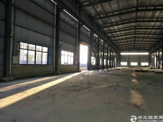 横店独门独院钢结构厂房,2000平米可生产加工,仓储物流-图3
