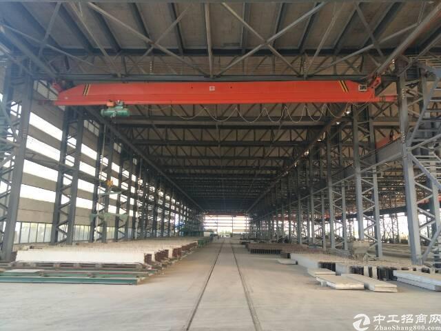 汉口北装配式建筑18米高厂房,长150米,宽30米,超大外场