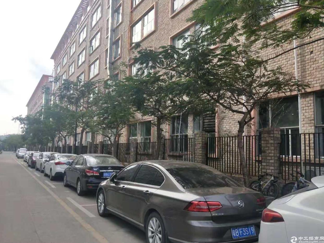坑梓莹展工业园厂房分组三楼2350平方出租,可办环评