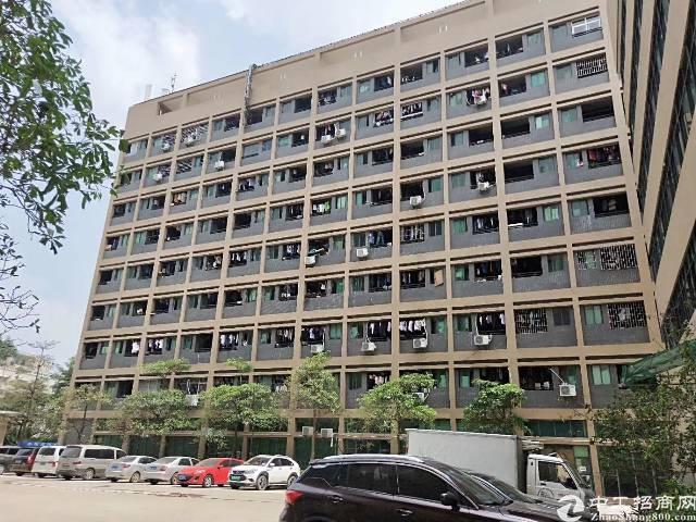 深圳宝安龙大高速出口处新出带装修楼上1450平米厂房招租
