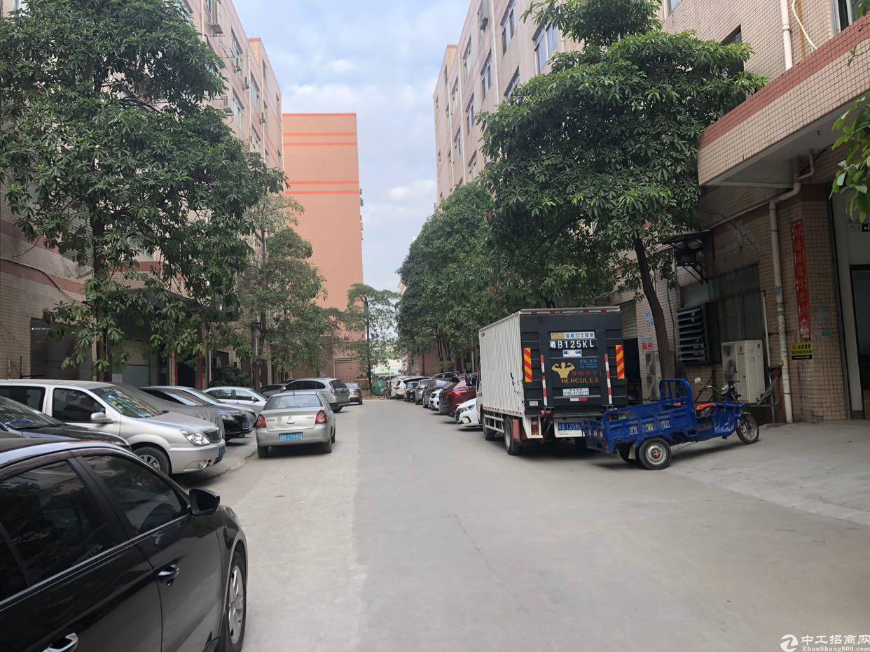 宝安西乡固戍航城大道楼上550平厂房出租