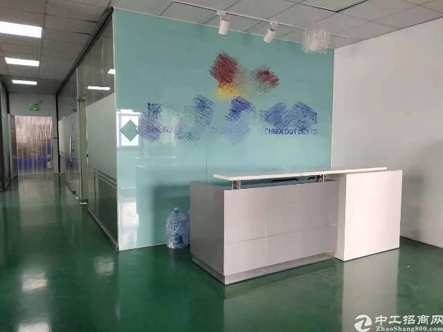 福永107国道边凤凰楼上800平带装修厂房出租