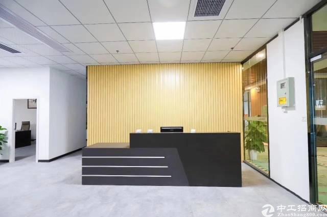 油松中心商圈精装写字楼100平起租租金38起