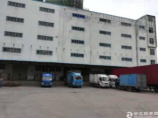 平湖华南带卸货平台物流仓11000平出租